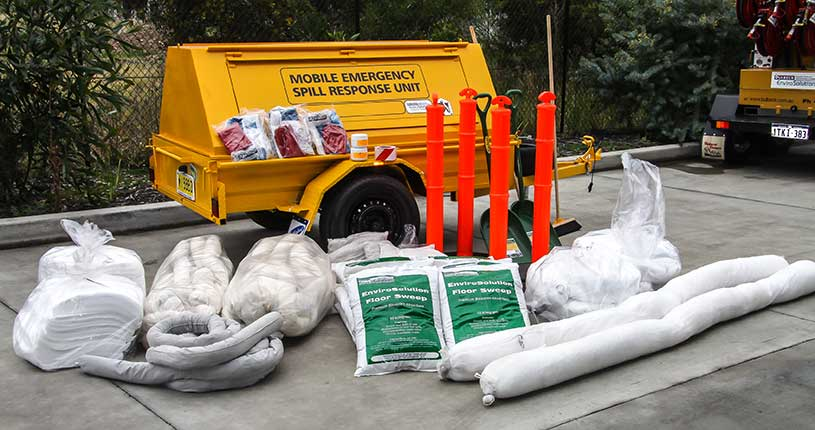 clean up spill trailer kit