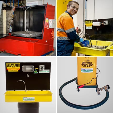 Mosaic: Parts Cleaning Machines